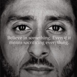 Nike earned the loyalty of buyers using colin kaepernick