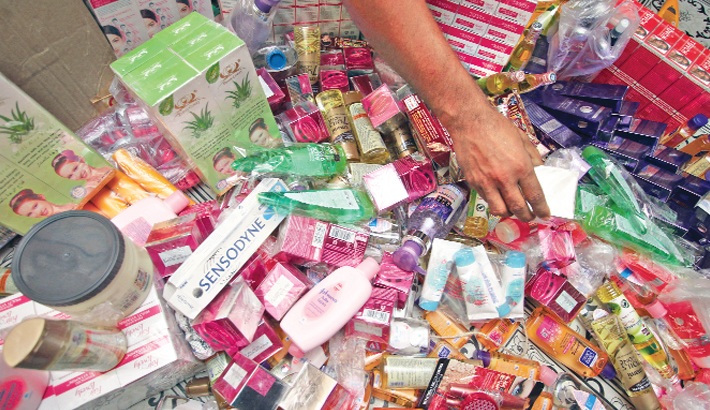 most cosmetic products are most commonly counterfeited