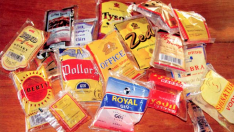 Why Nafdac wants to ban sachet alcohol by 2023