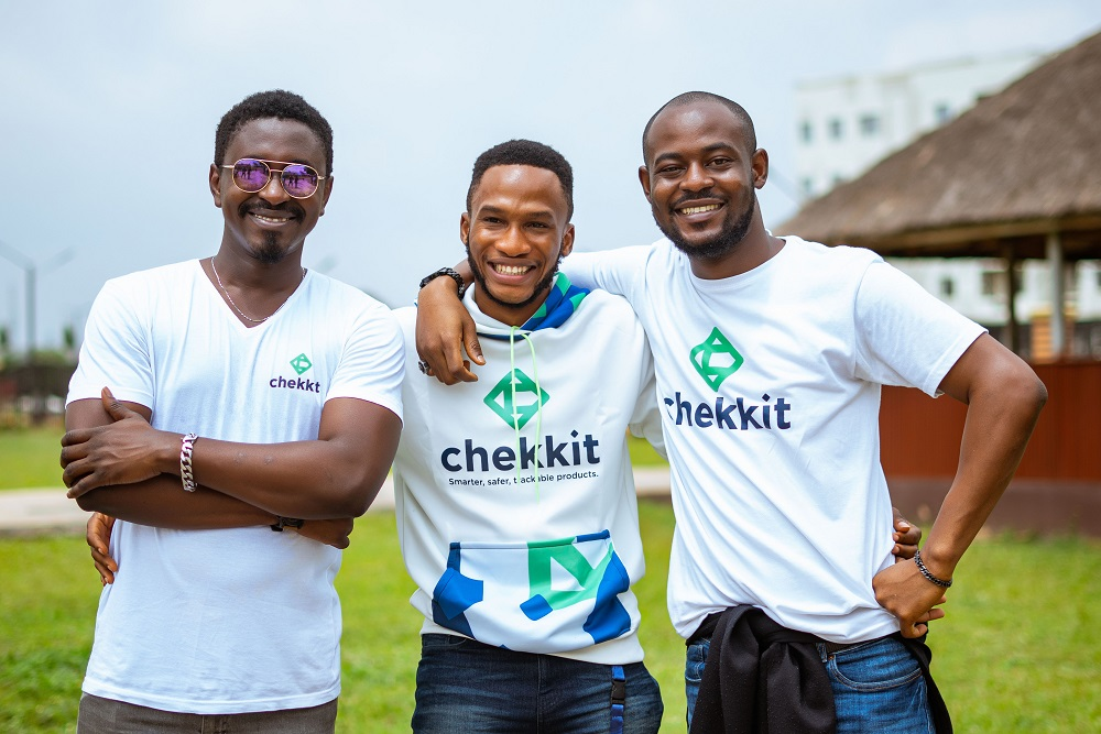 Founders of Chekkit announcing pre-seed funding
